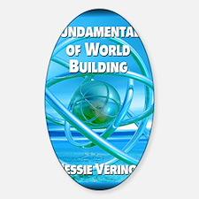 Fundamentals of World Building gree Sticker (Oval)