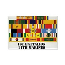 1st_battalion_11th_marines Rectangle Magnet