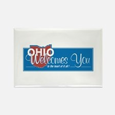 Welcome to Ohio - USA Rectangle Magnet