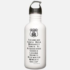 US Route 66 - New Mexi Water Bottle
