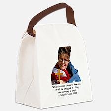 fascist sarah 5 Canvas Lunch Bag