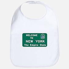 Welcome to New York - USA Bib