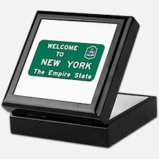 Welcome to New York - USA Keepsake Box