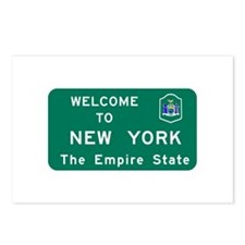 Welcome to New York - USA Postcards (Package of 8)