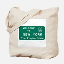 Welcome to New York - USA Tote Bag