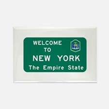 Welcome to New York - USA Rectangle Magnet