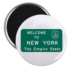 """Welcome to New York - USA 2.25"""" Magnet (100 pack)"""