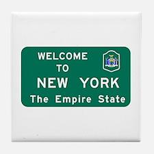 Welcome to New York - USA Tile Coaster