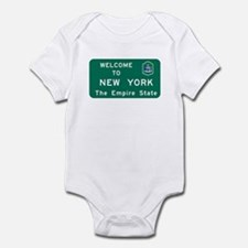 Welcome to New York - USA Infant Bodysuit