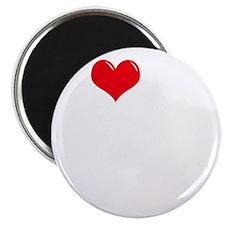 I-Love-My-Bloodhound-dark Magnet
