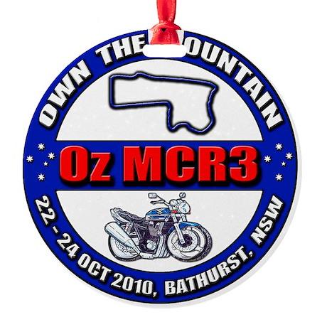 OzMCR3_WH Round Ornament