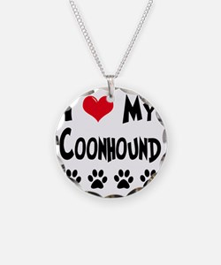 I-Love-My-Coonhound Necklace
