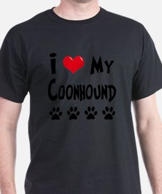 I-Love-My-Coonhound T-Shirt