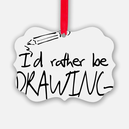 drawing Picture Ornament