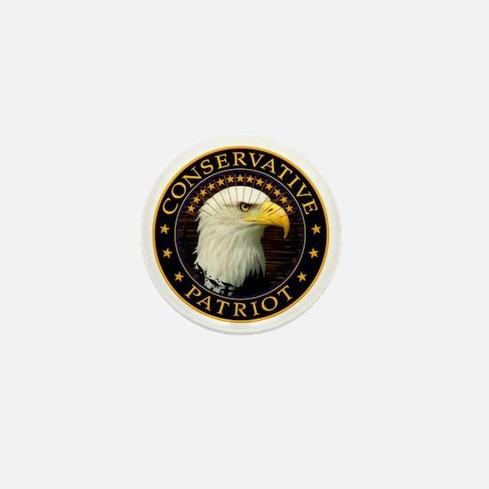 Conservative Patriot 2 Mini Button