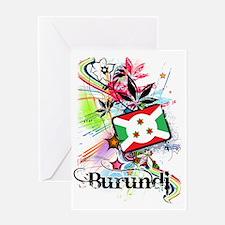 flowerBurundi1 Greeting Card