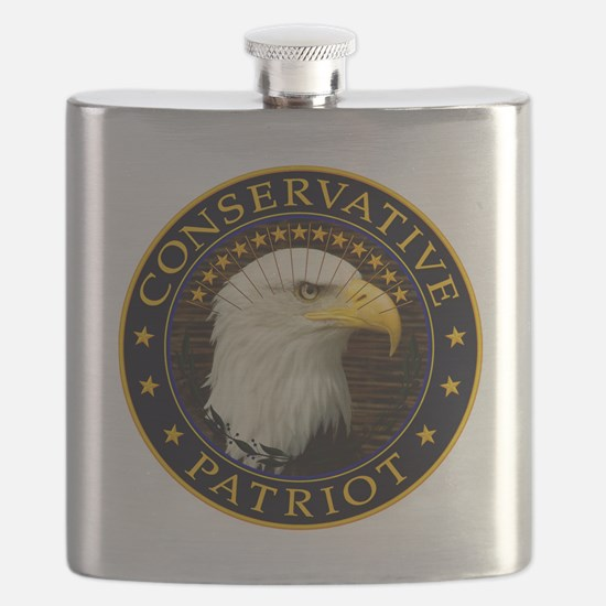 Conservative Patriot 2 Flask