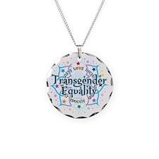 Transgender-Equality-Lotus Necklace