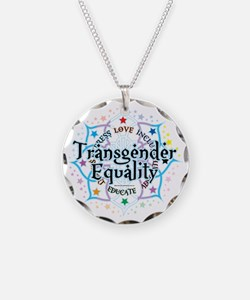 Transgender-Equality-Lotus Necklace