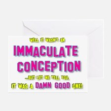 2-Immaculate Conception Greeting Card