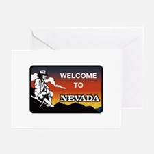 Welcome to Nevada - USA Greeting Cards (Package o
