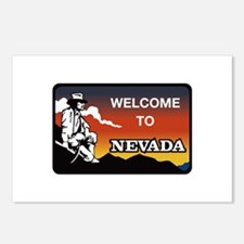 Welcome to Nevada - USA Postcards (Package of 8)