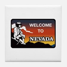 Welcome to Nevada - USA Tile Coaster