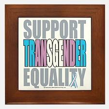 Support-Transgender-Equality Framed Tile