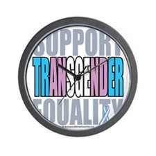 Support-Transgender-Equality Wall Clock