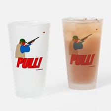 shotgun sports 4 Drinking Glass