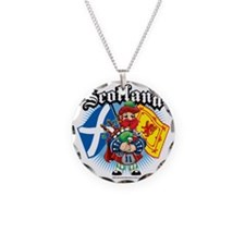 Scotland-Flags-and-Piper Necklace
