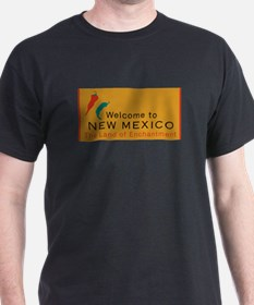 Welcome to New Mexico - USA T-Shirt