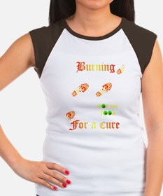 Burning4ACure_BlackApro Women's Cap Sleeve T-Shirt