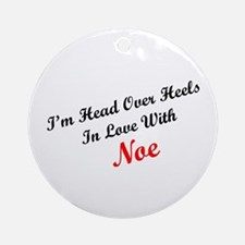 In Love with Noe Ornament (Round)