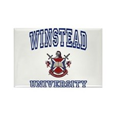 WINSTEAD University Rectangle Magnet