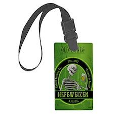 Beer_label_Skeleton Luggage Tag