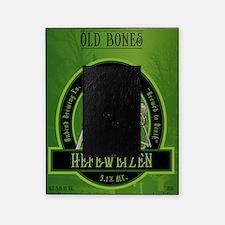 Beer_label_Skeleton Picture Frame