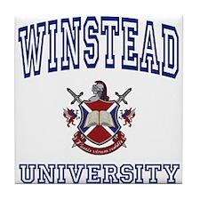 WINSTEAD University Tile Coaster