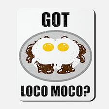 Gotlocomoco Mousepad
