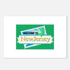 Welcome to New Jersey - USA Postcards (Package of