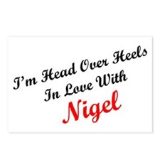 In Love with Nigel Postcards (Package of 8)