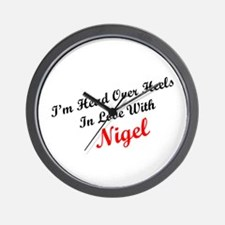 In Love with Nigel Wall Clock