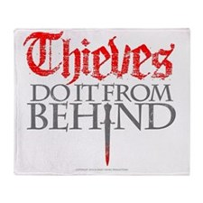 thieves_do_it Throw Blanket
