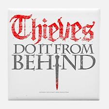 thieves_do_it Tile Coaster
