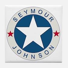 2-Seymour Lone star10x10_apparel Tile Coaster