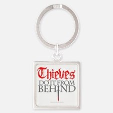 thieves_do_it Square Keychain