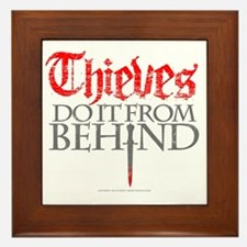 thieves_do_it Framed Tile
