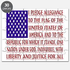 2-Pledge Tee Puzzle