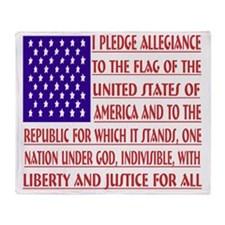 2-Pledge Tee Throw Blanket