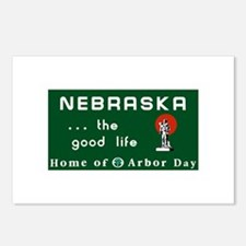 Welcome to Nebraska - USA Postcards (Package of 8)
